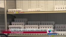 El precio del huevo alcanza cifras récord