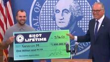 Joven mecánico gana un millón de dólares por vacunarse contra covid-19 en Washington