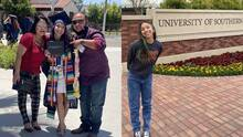 Hispana gana beca de prestigiosa universidad en California, pero por un atraso del IRS pudiera perderla