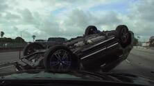 Revelan el video de una aparatosa persecución policial en la I-95