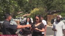 Movilizan equipo SWAT por presunta mujer parapetada al este de Austin