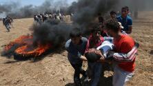 En un minuto: Abre la embajada de EEUU en Jerusalén en medio de protestas de los palestinos