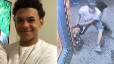 Video: El latino asesinado a machetazos trató de esconderse en una tienda, pero aparentemente le echaron
