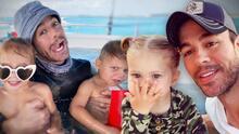 """Enrique Iglesias dice cuál de sus tres hijos es travieso como él y qué se necesita para ser un """"buen padre"""""""