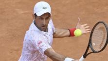 Se clasifica Djokovic a la final del Masters de Roma