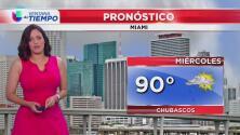 Se pronostica solo un 20% de probabilidad de lluvia en el sur de Florida