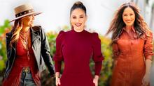 Karla Martínez y sus mejores looks con prendas de cuero para inspirarte a usar este otoño