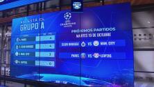 Así va el Grupo A de la UEFA Champions League