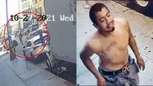 Hispano presuntamente atropella a una mujer y escapa sin saber que estaba siendo grabado