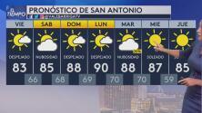 En San Antonio predominarán los cielos despejados y temperaturas templadas este viernes