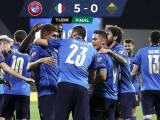 Italia despedaza 5-0 a Lituania y ya suma 37 partidos al hilo sin perder