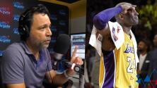 """""""Por poco y nos sacan"""": Omar recordó cuando conoció a Kobe Bryant y Argelia hizo que casi los expulsen del lugar"""