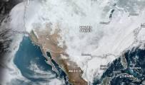 La dramática sequía de California vista desde el espacio