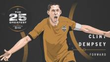 The 25 Greatest: Clint Dempsey llenó de goles las redes de la MLS