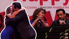 Con aplausos y un gran abrazo: el video de cómo Mariana Garza y Pablo Perroni anunciaron el fin de su matrimonio