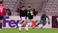 ¡GOL!  anota para Ajax. Dusan Tadic