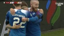 ¡GOOOL! Jón Dadi Bödvarsson anota para Iceland