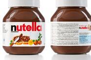 """SARAJEVO, BOSNIA AND HERZEGOVINA - NOVEMBER 17, 2011:Two jars with Nutella Hazelnut Spread with Skim Milk and Cocoa."""