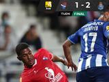 Porto vence de último minuto a Gil Vicente con un par de golazos