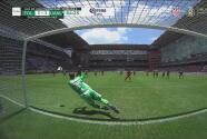 ¡Ataja el penalti! Nahuel Guzmán se luce y tapa el cobro de Alexis Canelo