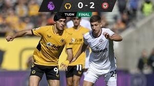 El Wolverhampton de Raúl Jiménez pierde ante el Brentford