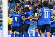 Italia aplasta a Lituania y sigue tranquila en la cima de su grupo