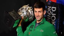 Novak Djokovic, un gigante que 'les pisa los talones' a Rafael Nadal y a Roger Federer