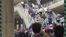 ¡Portazo en Wembley! Fans se cuelan a la Final de la Euro 2020