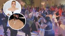 (VIDEO) LeBron James, Adele y otras famosos celebraron la boda de Anthony Davis al ritmo del 'dembow'