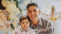 Lo más tierno que verás: Edson festeja cumpleaños de su hija