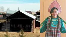 Cristina Romero conoció las isbas, antiguas aldeas de Ekaterimburgo que existen desde el Siglo XVIII