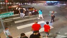 """""""La familia está sufriendo"""": seis niños heridos, dos en estado crítico, tras aparatoso choque en Oakland"""