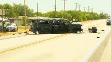 Al menos cinco personas muertas y varias heridas en accidente al sur de Texas