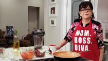 Doña Rosa Rivera nos compartió una deliciosa de receta de camarones ideal para el Día de las Madres
