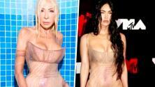 Polémica por supuesta foto de Laura Bozo luciendo un vestido transparente que vimos en Megan Fox