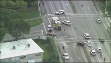 Choque entre un Corvette y un Jeep deja un muerto en Miami-Dade