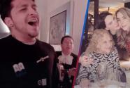 Christian Nodal sorprende a su futura suegra y le lleva mariachi para celebrar su cumpleaños