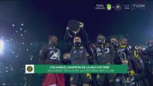 ¡Columbus Crew levanta su segundo trofeo de la MLS Cup!