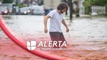 Vigilancia por inundaciones repentinas en casi todo el estado, evite conducir por zonas anegadas