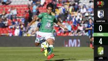 Querétaro 0-4 León - GOLES Y RESUMEN - Jornada 4 - Clausura 2019 - Liga MX