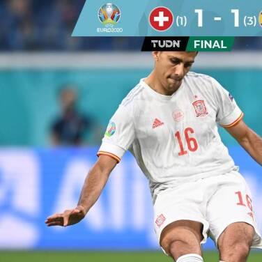Resumen | Suiza falla en penales y España está en Semifinales