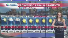 Lunes con precipitaciones en Sacramento