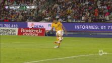 Aquino marcó el 2-1 a favor de Tigres sobre Pachuca, tras polémica jugada en fuera de lugar