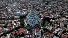 Denunciantes aseguran que hay habitaciones privadas debajo del templo de la iglesia La Luz del Mundo en México