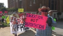 Protestan en Georgia a favor de los inmigrantes y exigen licencias para indocumentados