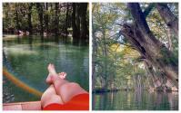 """Este parque esconde un lago de """"agua azul brillante y cristalina"""" y puedes sumergirte por $12"""