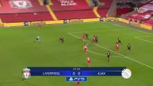 ¡Gol del Liverpool! Jones puso el 1-0 sobre el Ajax