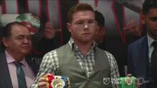 """Saúl 'Canelo' Álvarez: """"Nunca me confío, Amir Khan es un peleador rápido"""""""
