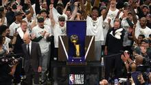 Milwaukee Bucks celebran el segundo título en la historia de la franquicia