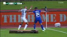 ¡TIRO ATAJADO! disparo por Carlos González.